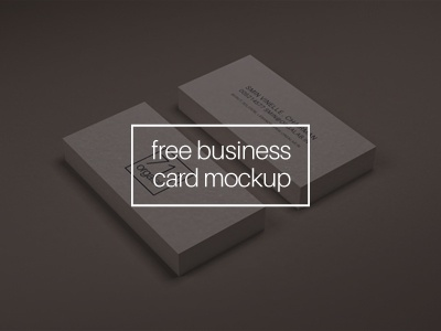 Business Card Mockup free psd download mockup business card vector smart object