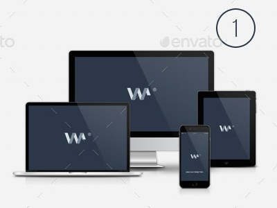 14 Combinations - Responsive Devices psd free smart object download blugraphic iphone 6 ipad mac mac pro