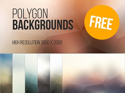 7 Free Polygon Backgrounds free download psd design graphic art blugraphic vector polygon backgrounds