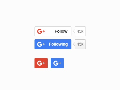Google Plus New Button blugraphic download button free psd google