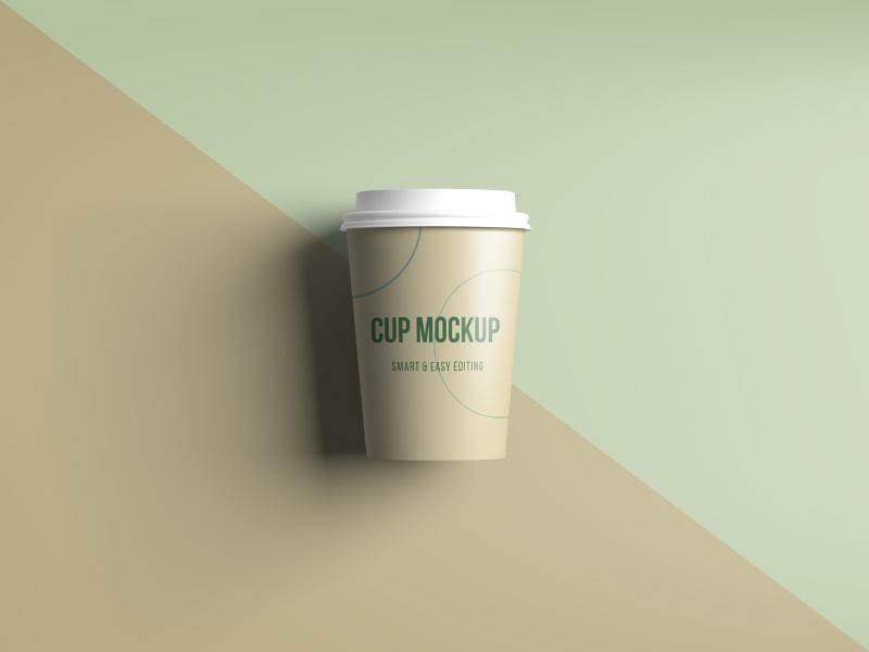 Coffee / Tea Cup Mockup presentation template mockup disposable cup tea coffee
