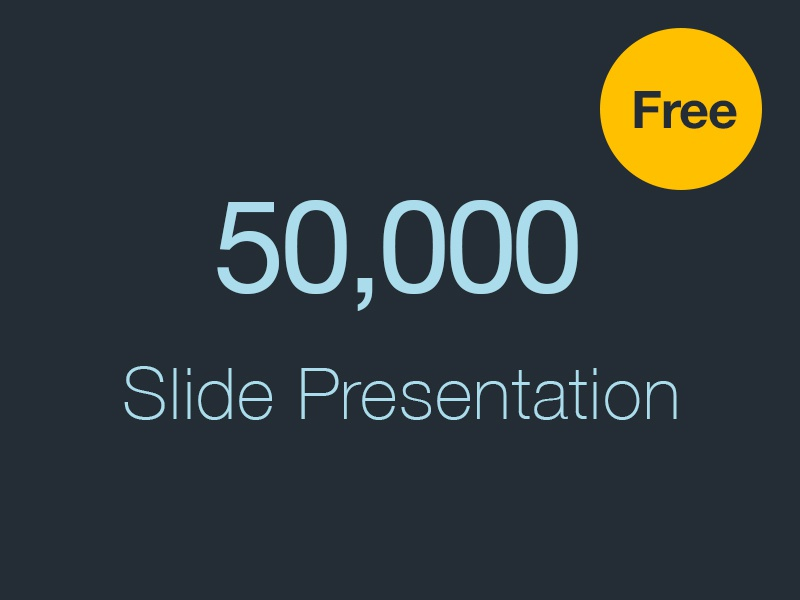 Powerpoint Free Template By Wassim Dribbble Dribbble