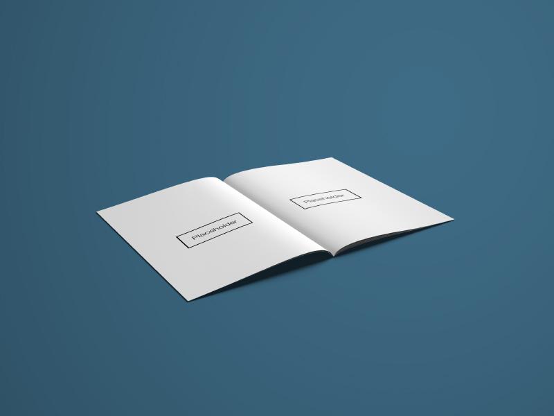 16 A4 Brochure Mockups template a4 magazine letter mockup brochure download free