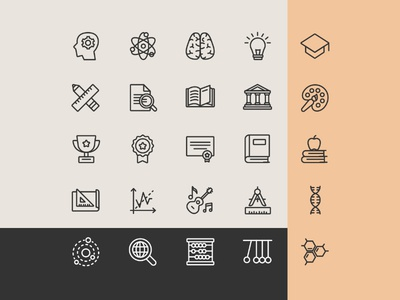 Education Icons - Free Download
