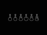 String Music Instrument Icons