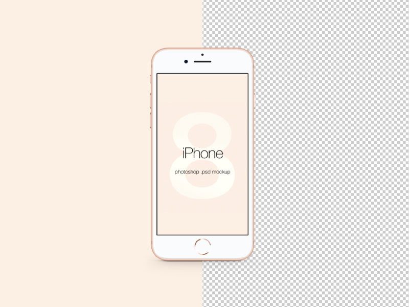 Iphone 8 mockup free download