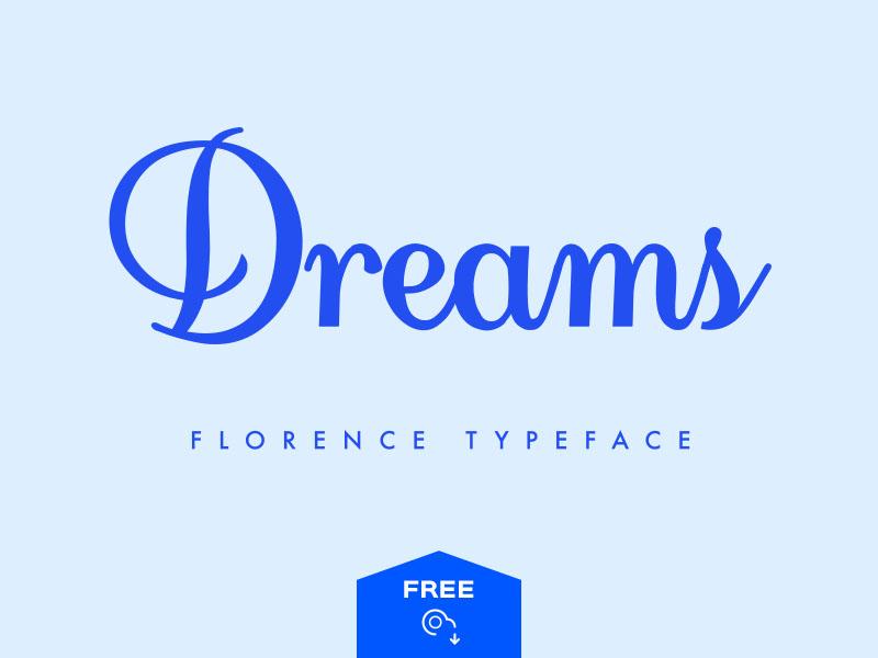 Florence Script Typeface