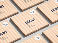 Free Pizza Package Box Mockup