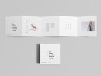 Free 5 Fold Accordion Brochure Mockup
