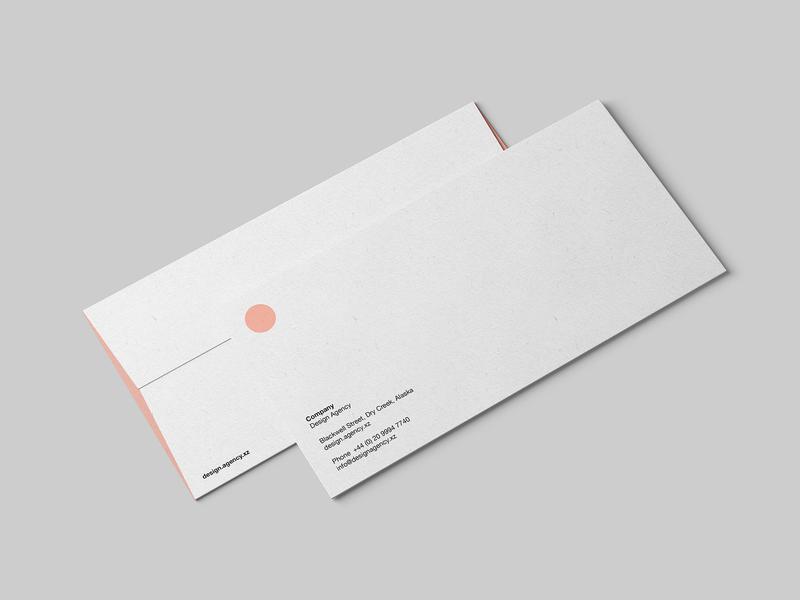 DL Envelope Mockup PSD by Wassim ✈ on Dribbble