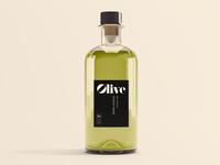 Free PSD Olive Oil Mockup
