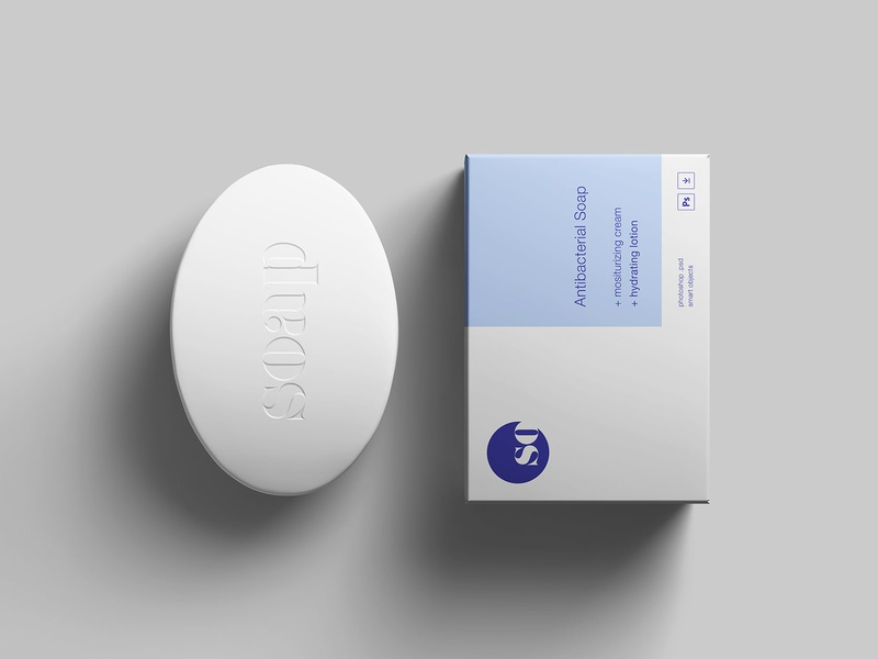 Soap Package Mockup By Wassim On Dribbble