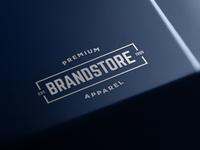 Free Metal Brand Logo Mockup
