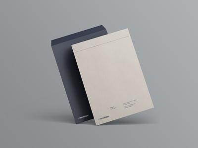 Simple PSD C4 Envelope Mockup