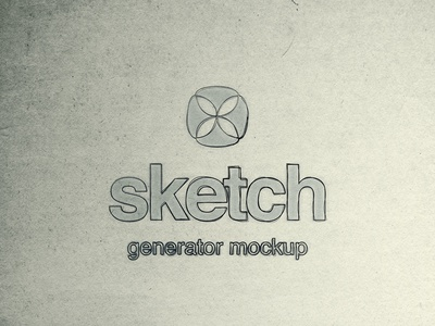 Free Sketch Generator Mockup