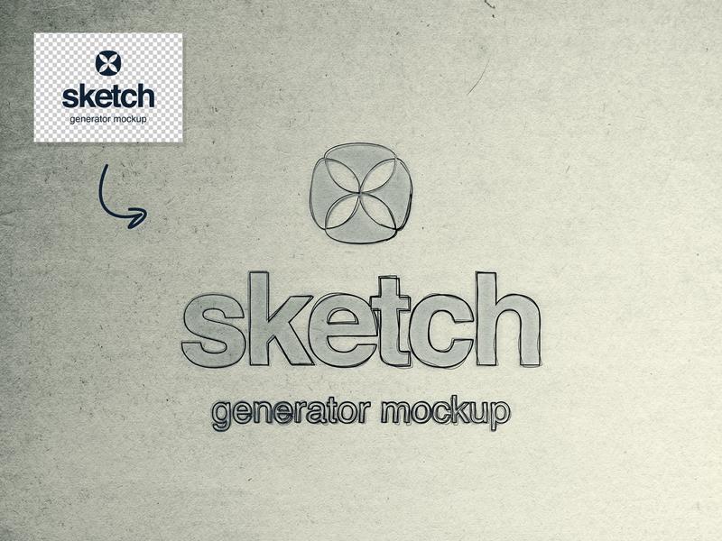 Free Sketch Generator Mockup by Wassim ✈ on Dribbble