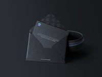 C5 Envelope Mockup Black