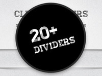 20 Free Web Dividers