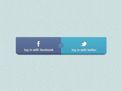 Facebook & Twitter Buttons facebook twitter