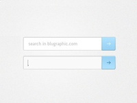 Search Box - PSD FREE