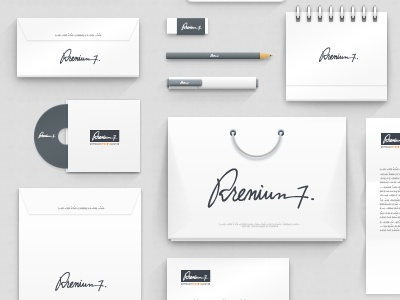psd corporate identity mockupwassim ✈ - dribbble, Powerpoint templates