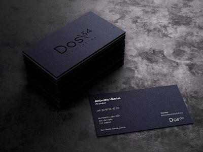 Business Card 2/54 businessdesign craft paper elegant simple minimalism minimalist graphic design design architecture architect cards white black businesscard