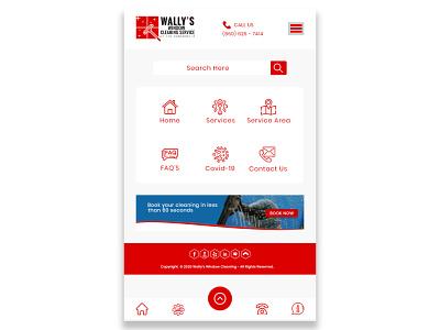 Wallys Mobile UI Design icon mobile ui minimal illustration graphicdesign design