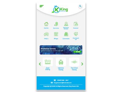 KingStream Mobile UI web design mobile ui illustration icon minimal graphicdesign design