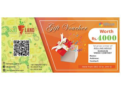Gift Voucher Design gift voucher voucher design minimal fb post graphicdesign design