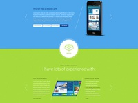 Freelancer OnePage site
