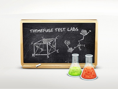 Themefuse Test Labs testing labs test tube blackboard