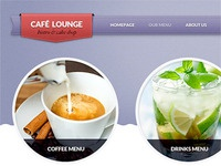 Cafe Lounge menus