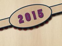 2015 Happy new year!
