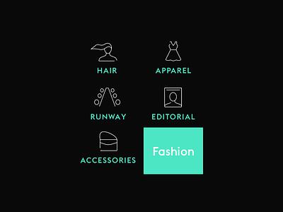 Fashion Icons app fashion line icons