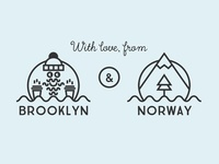 With love, from Brooklyn & Norway