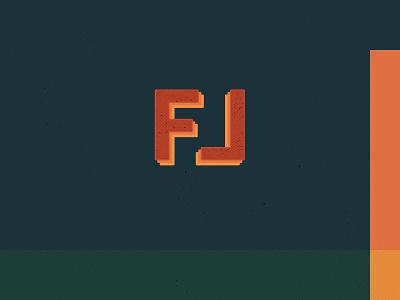 FL 90s new york brooklyn rooftop farming farm typography color logo