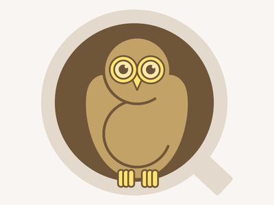 Coffee Owl coffee owl illustration
