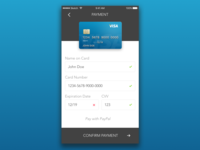 DailyUI: #2 (Credit Card Checkout)