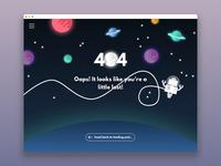 DailyUI 8 (404 Page)