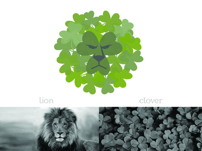 Lion and Clover