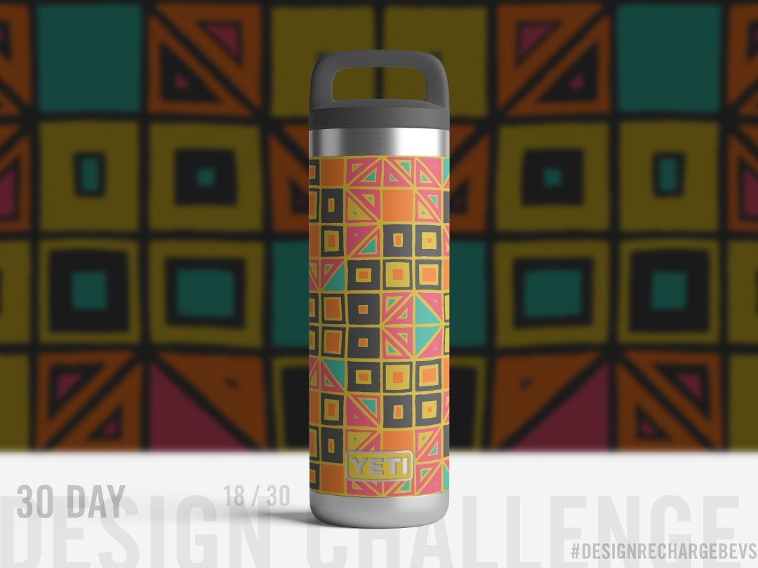 Proposed custom YETI design 18/30 triangles design packaging mockup abstract hand drawn branding patterns drawing geometric illustration packaging design freehand tribal op art geometric illustration abstract art textile design surface design pattern design pattern