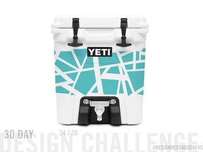 Proposed custom YETI design 24/30 lineart vector design packaging mockup abstract freehand op art geometric illustration graffiti branding art licensing urban art geometric packaging design abstract art textile design surface design pattern pattern design illustration