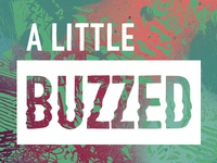 A Little Buzzed Logo Concept 1