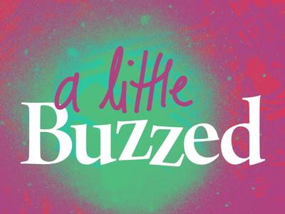 A Little Buzzed Logo Concept 2