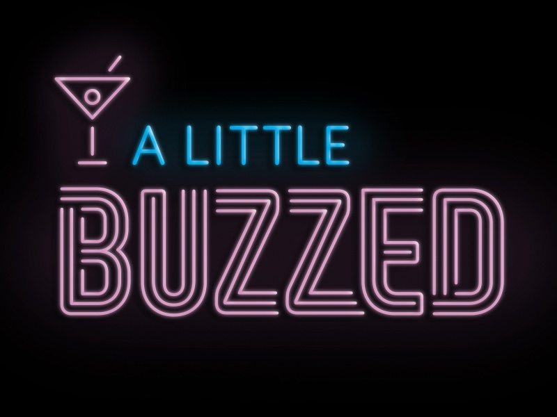 Gneural debbie clapper a little buzzed podcast logo 3