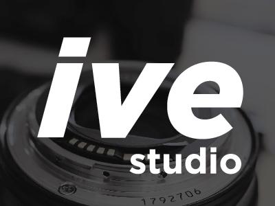 ive studio white design logo black ive studio