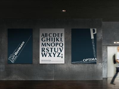 Optima Font font optima design typography typo posters