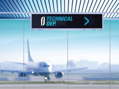 JORAMCO | BRANDING logo design sign signage airport airplane branding