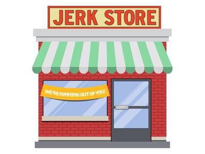 The Comeback seinfeld store vector jerk