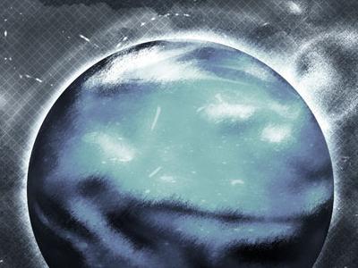 Oceanus planet photoshop illustrator cinema 4d